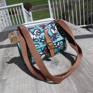 NWT Fossil floral crossbody purse